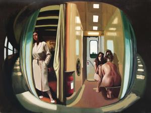 Il treno delle donne (insieme 150 x 200)